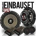 GroundZero 2-Wege-Komponenten 165 mm Lautsprecher/Boxen extra flach für Opel Insignia ab 08 Vordere Türen von GroundZero - Reifen Onlineshop