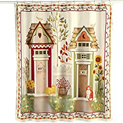 Country Outhouse Shower Curtain