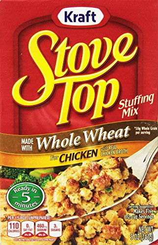 Stove Top Stuffing Mix, Chicken with Whole Wheat, 5-Ounce Units (Pack of 12) (Chicken Stuffing compare prices)