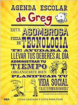 Agenda Escolar Greg (DIARIO DE GREG): Amazon.es: JEFF