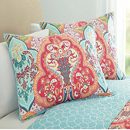 Better Homes And Gardens Quilt Collection, Jeweled Damask - 1