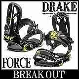 14-15 DRAKE / ドレイク FORCE メンズ ビンディング バインディング スノーボード