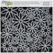Crafter\'s Workshop Templates 12-Inch by 12-Inch, Daisy Cluster