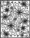 Spellbinders Impressabilities – Flower Silhouette image
