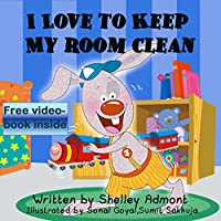Children's Book: I Love To Keep My Room Clean by Shelley Admont ebook deal
