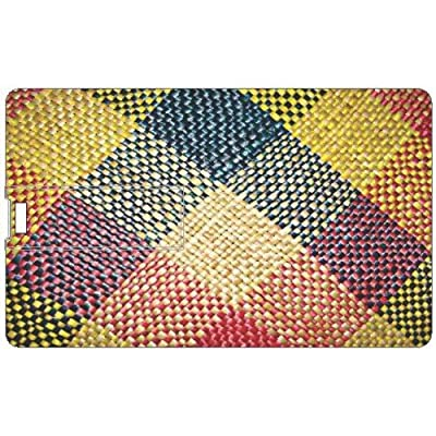 Design Worlds Credit Card Shape 16 GB Pen Drive Multicolor