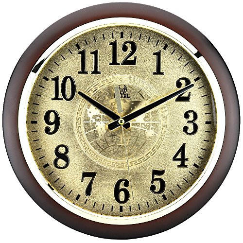 Sinceda 12.5 Inch Modern Non Ticking Silent Quartz Analog Digital Wall Clock