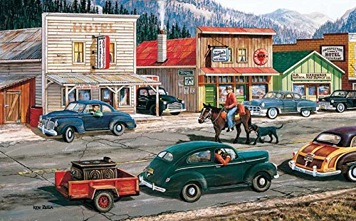 Along the Yukon a 300-Piece Jigsaw Puzzle by Sunsout Inc.