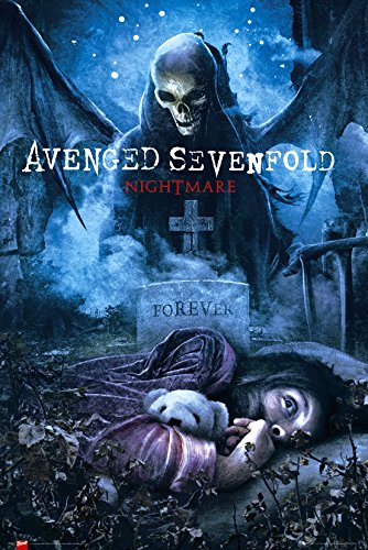 GB eye, Avenged Sevenfold, Nightmare, Maxi Poster, 61x91.5cm