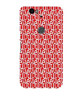 EPICCASE confused love Mobile Back Case Cover For Huawei Nexus 6P (Designer Case)