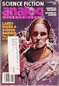 Analog Science Fiction Science Fact October 1982 (C11) by Stanley Schmidt; Editor-Larry Niven; Editor-Steven Barnes; Editor-Joseph H. Delaney; Editor-Mark C. Jarvis
