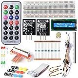 GPIO Electronics Starter Kit Per Raspberry Pi,led, LCD,IR,Switch,DS18B20 TE165
