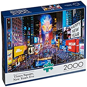 Buffalo Games New Year's Eve in Times Square Jigsaw Puzzle (2000-Piece)