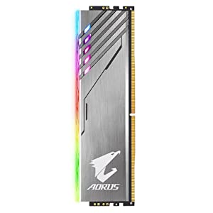 GIGABYTE AORUS RGB Memory 3200MHz DDR4 16GB (2X8GB) Kit with Exclusive 2xRGB Demo Modules (GP-AR32C16S8K2SU416R) (Tamaño: 16 Gb)