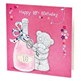 Happy 18th Birthday Me to You Bear Gift Tag