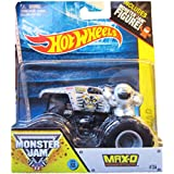 Max-D Monster Jam Off Road Truck By Hot Wheels 1:64 Includes Monster Jam Figure #36
