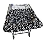 JJ Cole Shopping Cart Cover, Black Fl...