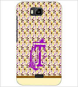 HUAWEI HONOR BEE T WORD Designer Back Cover Case By PRINTSWAG