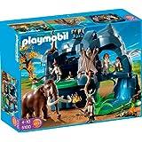 Playmobil - 5100 - Jeu de construction - Grotte préhistorique avec mammouth