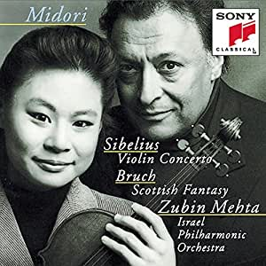 Sibelius: Violin Concerto / Bruch: Scottish Fantasy