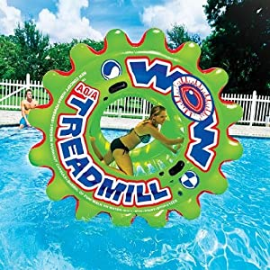 World Of Watersports WOW 1 - 3 Person Steerable Human Powered Aqua Treadmill
