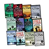 Vince Flynn Mitch Rapp 12 Books Collection Pack Set RRP: £90.88 (Pursuit of Honour, The Third Option, SEPERATION OF POWER, VINCE FLYNN ACT OF TREASON, Consent to Kill, Protect and Defend, Transfer of Power, Memorial Day, Extreme Measures, Executive Powe