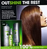 3 Pack of Advance Techniques Daily Shine Shampoo, Quick Touch Leave-in Conditioner & Dry Ends Serum