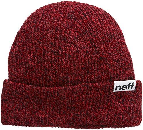 Neff berretto Fold Heather, Unisex, Mütze Fold Heather, nero, Taglia unica