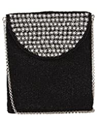 Ahankara Women's Sling Bag (Black White) (AMSB0000006)