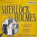 Der Daumen des Ingenieurs / Der adlige Junggeselle (Die Abenteuer des Sherlock Holmes) Hörbuch von Arthur Conan Doyle Gesprochen von: Oliver Kalkofe