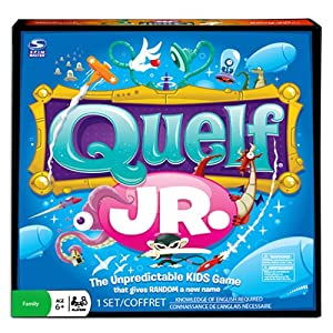 Quelf Jr Board Game