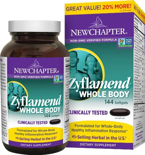 再特价:NEW CHAPTER 新章 Zyflamend Whole Body 草本英华抗炎胶囊 144粒