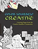 img - for Color Yourself Creative: Coloring Pages from the Creative Sandbox Community book / textbook / text book