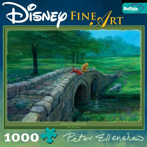 Cheap Fun Buffalo Games Disney Fine Art: Fishing With Friends (Winnie) (B0017KFCLY)