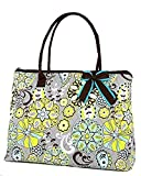 Belvah Quilted Floral Paisley Extra Large Tote Bag
