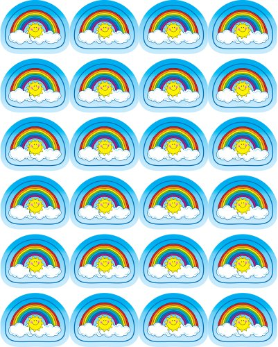 Rainbows Shape Stickers