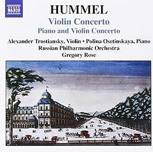 Johann Nepomuk Hummel : Concerto pour violon - Concerto pour piano et violon