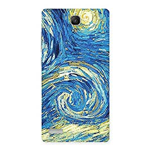 Modern Color Print Back Case Cover for Redmi Note 4