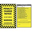 6 x Prank Parking Tickets