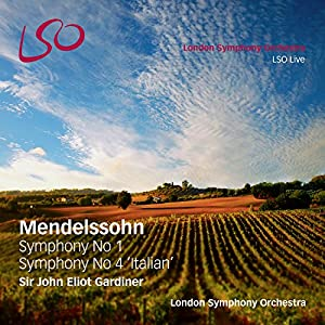 Mendelssohn: Symphonies 1 & 4 'Italian' [SACD Hybrid + 1 Pure Audio Blu-ray] from LSO Live