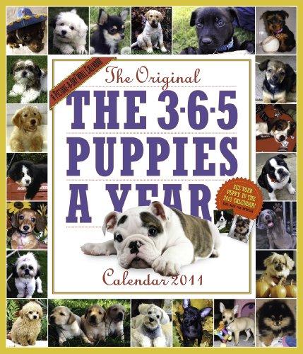 365 Puppies a Year Calendar 2011