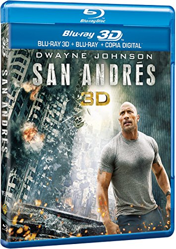 San Andrés (BD 3D + BD 2D + Copia Digital) [Blu-ray]