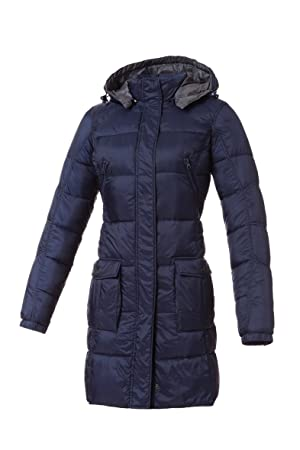 Tucano urbano 8888B2 lAURA women's-respirant-ultra light and water repellent 3/4 length down jacket-veste-homme-bleu-taille xS