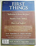 img - for First Things (Number 117, November 2001) book / textbook / text book