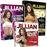 Jillian Michaels - 3 DVD Box Set (Ripped in 30, Killer Buns and Thighs & Extreme Shed and Shred)