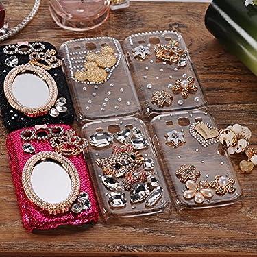 3D Bling Diamond Love Heart Hard Cover Skin Case For Samsung Galaxy S3 i9300