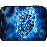 Snoogg Shattered Clock 2693 10 To 10.6 Inch Laptop Netbook Notebook Slipcase Sleeve