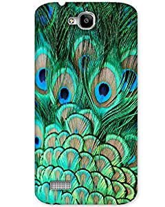 MobileGabbar Huawei Honor Holly Back Cover Printed Designer Hard Case