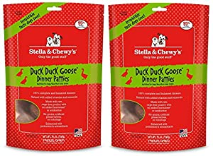 Stella & Chewy's Freeze-Dried Dinner Patties 25oz Duck (2 Pack)