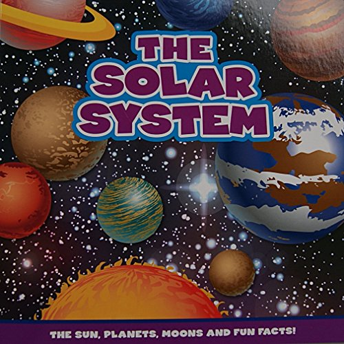 The Solar System Book: The Sun, Planets, Moons, and Fun Facts - 1